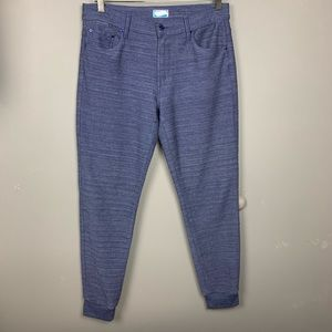 $198 MOTHER the trainer denim jogger jeans sz 29